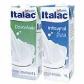 Leite Desnatado e Integral Italac