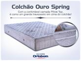 Colchão Casal Ouro Spring Super King Ortobom (10xs/juros )