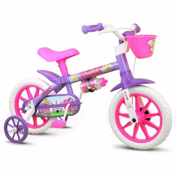 bicicleta-infantil violet -aro-12-nathor , R$265,00