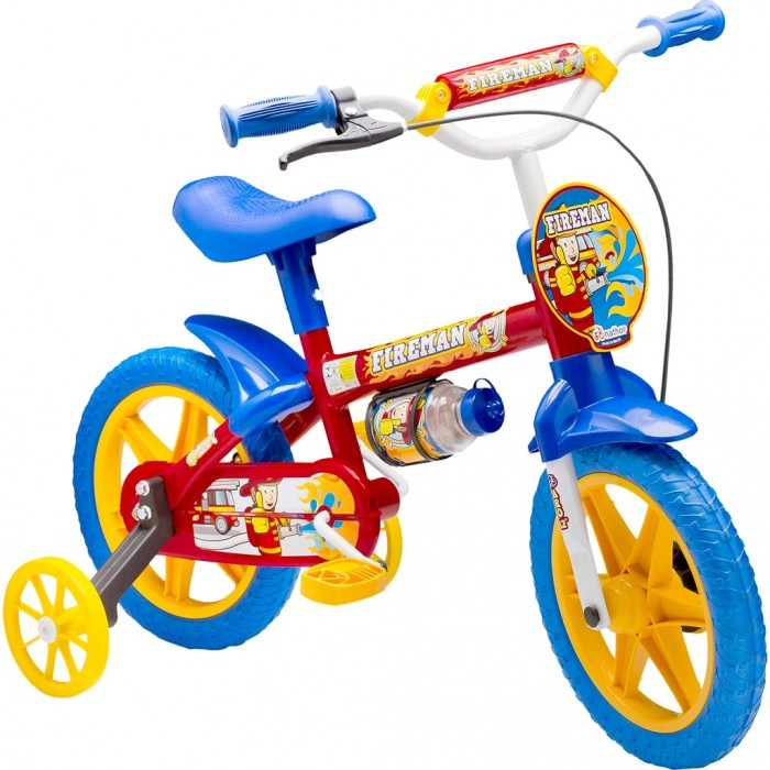 Bicicleta Infantil FIRE MAn Aro 12 Nathor,        R$265,00