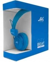 Fone de Ouvido Headphones City Beat Blue