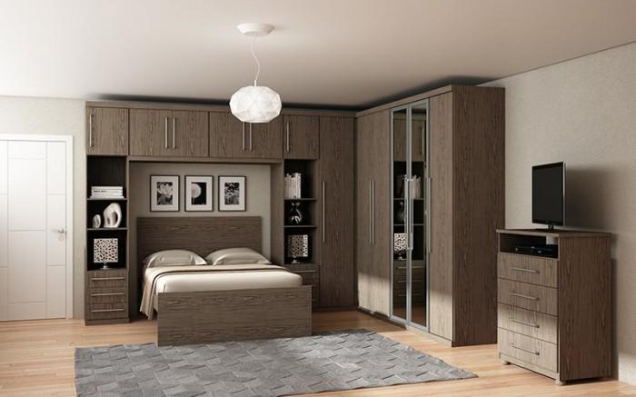 Dormitorio Modulado Guarda Roupa Modulado