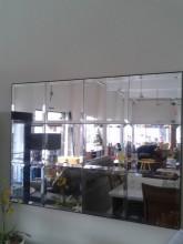 Espelho bisote de parede sala de jantar hall entrada