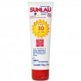 Protetor Solar Fator 30 com repelente Sunlau