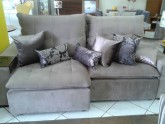Sofa retratil e reclinavel com pillow
