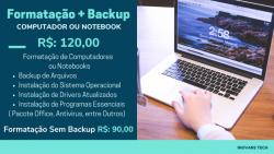 Eletrônicos e informática - Formatação de Computadores Notebooks  - Formatação de Computadores Notebooks