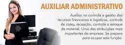 Serviços - Curso de auxiliar Administrativo - Curso de auxiliar Administrativo