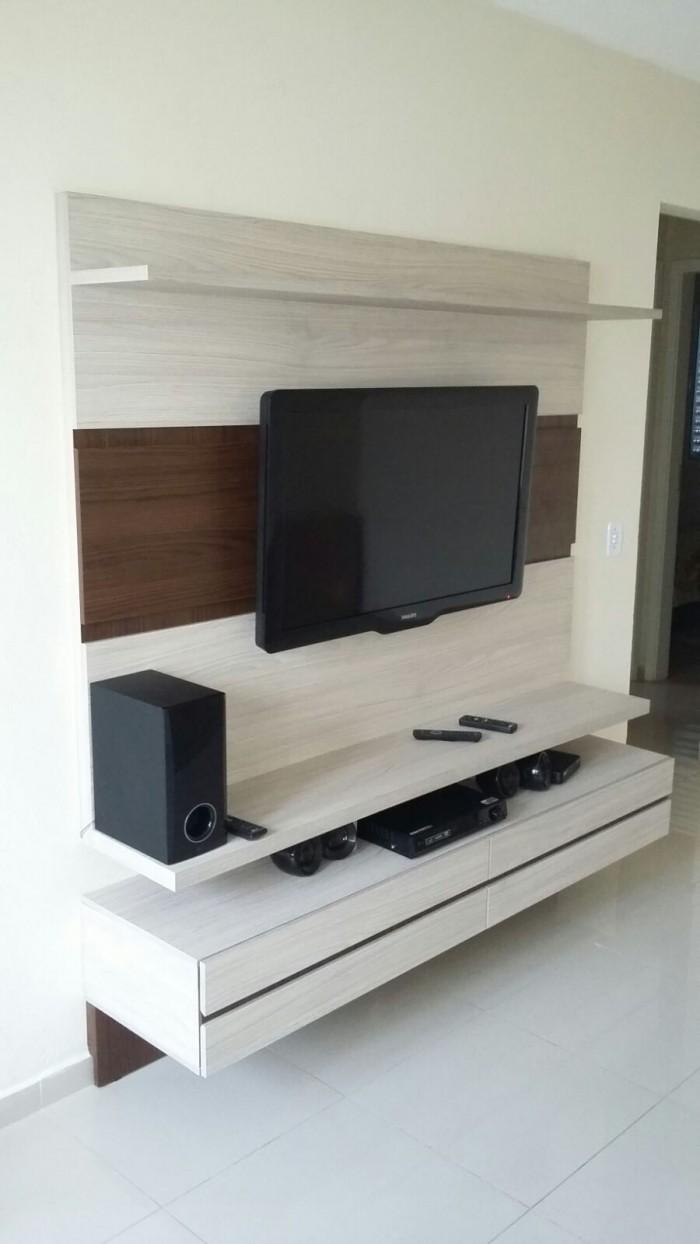 Medidas Para Sala De Tv ~ Planejados Piracicaba Painel sob Medida para TV Rack Sala Home