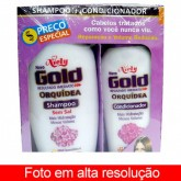 Niely Gold Kit Shampoo e Condicionador 200 ml