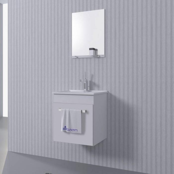 Gabinete banheiro com 3 peças 40cm  Piracicaba  Fionobre Pisos Revestimento -> Gabinete De Banheiro Sp