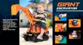 Bebês e Crianças - Escavadeira Gigante  - Escavadeira Gigante