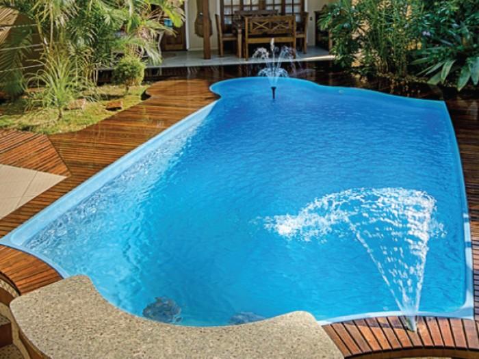 Piscinas de fibra solario piracicaba 6 50 x 3 20 x 1 40 m for Ofertas de piscinas estructurales