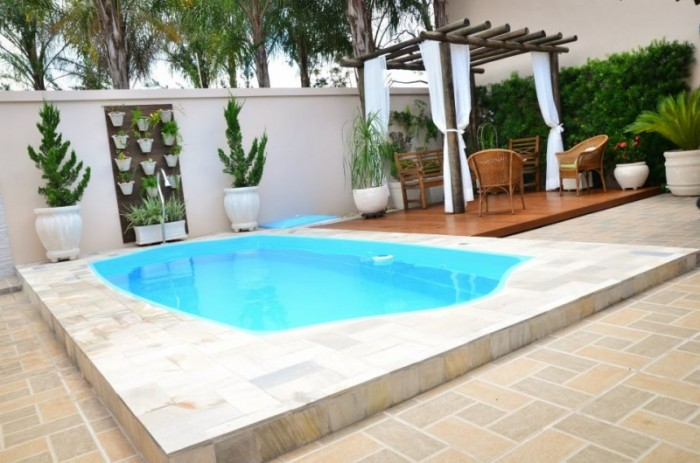 Piscinas de fibra solario piracicaba 5 00 x 2 50 x 1 40 m for Vendo piscina de fibra