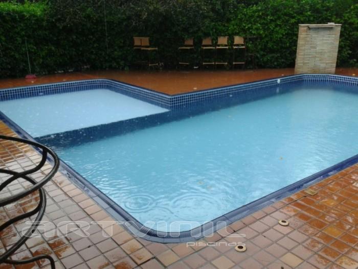 Piscina de vinil 10 00 x 5 00 x 1 40 m litros for Ofertas de piscinas estructurales