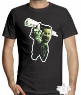 Moda - Camiseta Personalizada Gamebox - 005 Rick Grimes  - Camiseta Personalizada Gamebox - 005 Rick Grimes