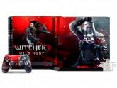 Eletrônicos e informática - Adesivo Película Skin PS4 The Witcher 3 - Adesivo Película Skin PS4 The Witcher 3