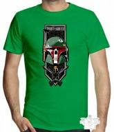 Moda - Camiseta Personalizada Gamebox - Bounty Hunter  - Camiseta Personalizada Gamebox - Bounty Hunter