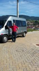 Locação de Van 15 lugares para Viagens Passeios Pescarias Aeroporto Comercial