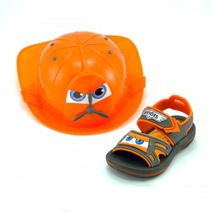 Sandalia Infantil Grendene Aviões com capacete