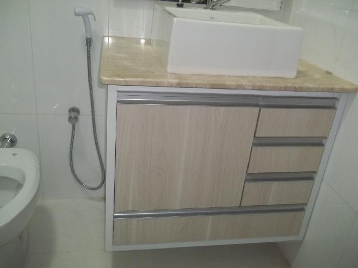 Banheiro Planejado MRV  Piracicaba  Arrazzo Móveis Planejados  Boca Santa  -> Banheiro Planejado Mrv