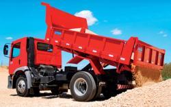 Caminhão de Areia Média-grossa
