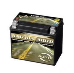 Veiculos - Bateria para Moto Route CB 300 Tornato Twister  CB 500  - Bateria para Moto Route CB 300 Tornato Twister  CB 500