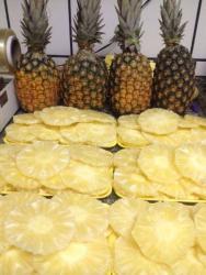 Alimentação - Abacaxi Pérola Descascado  - Abacaxi Pérola Descascado