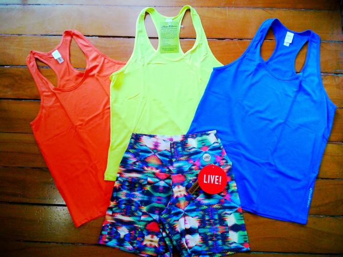 Shorts e Regatinhas dry-fit