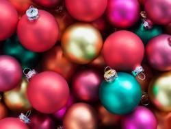 Bolas para Árvore de Natal enfeite