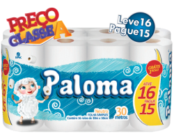 Papel Higiênico Paloma