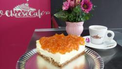 Cheesecake de Abóbora com Côco
