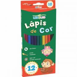 Lápis de cor  Eco Leo&Leo caixa com 12, 24 e 36 cores
