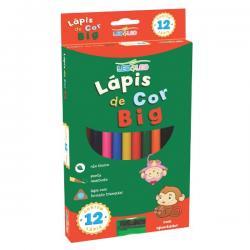Lápis de cor Eco Leo&Leo Big 12 cores