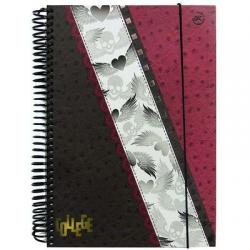 caderno espiral 96 folhas