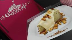 Cheesecake de Pistache !!!! Espetacular!!!!