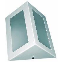 Arandela triangular/retangular  três vidros