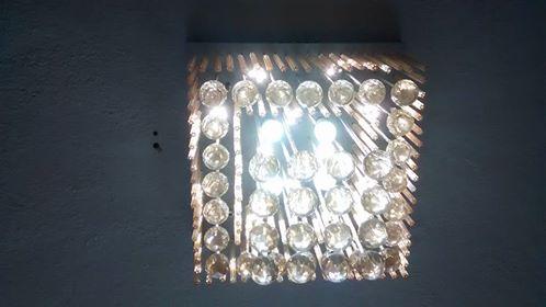 lustre-cristal-de-led-quadrado-R$ 1300,00