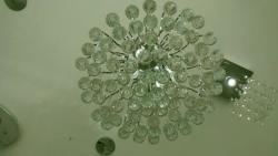Lustra Cristal Led