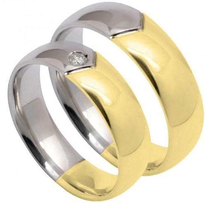 fc17ed15a9a27 Aliança de ouro  ouro branco  brilhantes. em Rio das Pedras