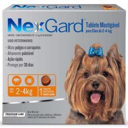 pastilhas anti pulgas e carrapatos Nexgard