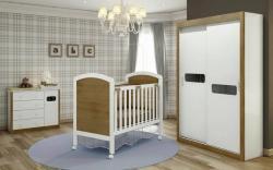 Bebês e Crianças - Quarto Completo Infantil  (Berço/Cômoda/Roupeiro) - Quarto Completo Infantil  (Berço/Cômoda/Roupeiro)