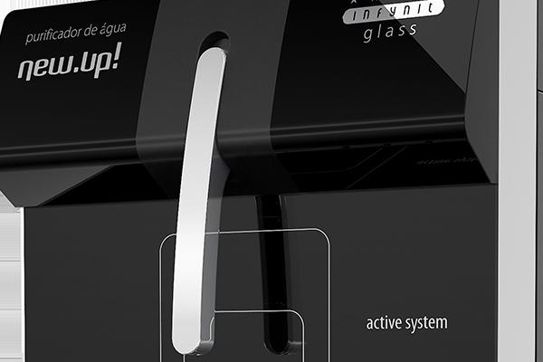 purificador-de-agua-newup-infinity-glass-branco-preto-127v-