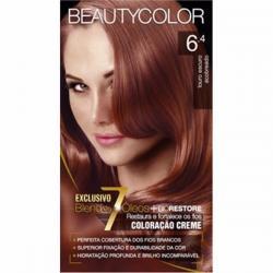 Tintura Coloração para Cabelos Beautycolor 6.4