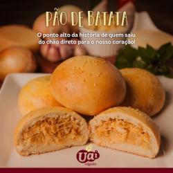 Pão de Batata com Requeijão Congelado