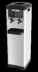 Bebedouro de coluna NewUp Max branco prata ou preto para galão ou Purificador Ecológico