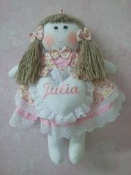 Bonecas e bonecos de pano personalizadas