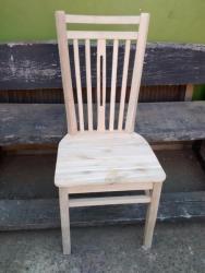 Cadeira em Madeira de Demolição Jequitibá Rosa