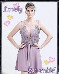 Vestido Madrinha Plus Size Formanda Vestido Curto de Tela