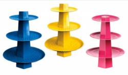 Para sua casa - Baleiro tres andares diversas cores - Baleiro tres andares diversas cores
