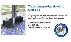 FECHADURA ALTA SEGURANÇA BLINDEX MUL-T-LOCK GLASS 52